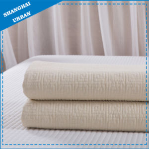 White Cotton Bedding Bed Cover Quilt (Blanket) pictures & photos