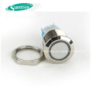 Diameter 19mm Pushbutton Switch pictures & photos