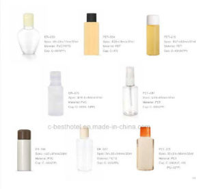Empty Shampoo Hotel Bottle/Hotel Amenities Products pictures & photos