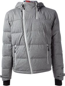 Men′ S Nylon Padding Cotton Winter Grey Jacket pictures & photos
