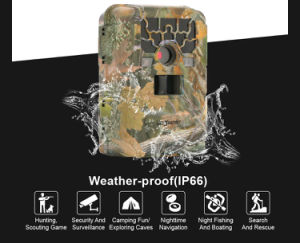 Bestguarder 12MP HD Security Camerea SG-880V IR Hunting Camera with 2′′ TFT Color LCD pictures & photos