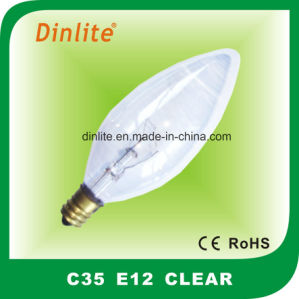 C35 Clear Candle Incandescent Bulb pictures & photos