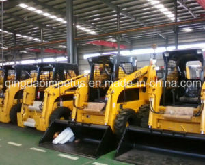 Supply Chinese Bobcat Skid Steer Loader with 50HP Engine and 700kg Rated Load pictures & photos