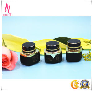 Customized Flower Round/Square Colourful Cosmetic Glass Jar with Cap pictures & photos