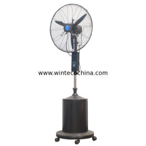 Humidifier Dedusting Equipment High Pressure Nozzle Mist Fan 26 Inch 4-6 Nozzles pictures & photos