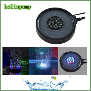 Disk Lights Multicolor 12V LED Underwater Fishing Light 18 Color Air Stone/Oxygen Bubbles Stone pictures & photos