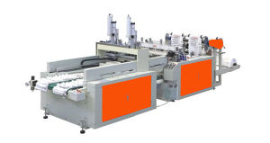 Automatic Double Channel Heat Sealing Heat Cutting Bag Making Machine