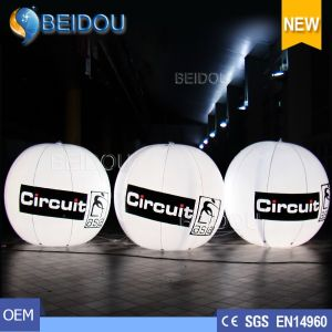 Wholesale Giant Advertising Balloons Inflatable Tripod LED Ground Hanging Balloon
