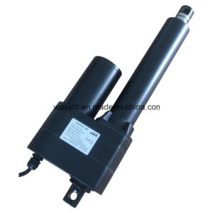 100mm Stroke 7000n Load DC Actuator CE ISO Certification and Brush Commutation Linear Actuator pictures & photos
