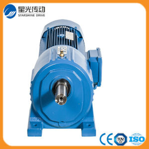 Flange Mounted Helical Geared Motor Reductor Gearbox pictures & photos