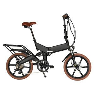 Rear Suspensin Inside Battery Electric Foldable Bicycle En15194 Approved pictures & photos