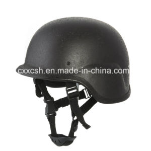 High Quality Adjustable Aramid Fiber Military Ballistic Helmet pictures & photos