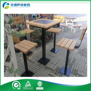 China Outdoor Furniture Picnic Table Set Chess Table And Bench Seat - Stainless steel picnic table