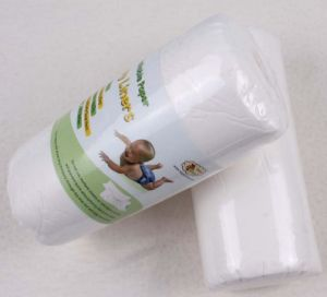 Biodegradable Nappy Liners Bamboo Fibre Baby Diaper pictures & photos