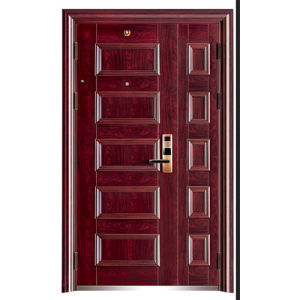 china exterior double front doors for home china commercial steel