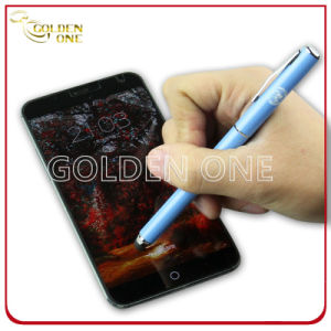 Touch Screen Stylus Leather Ballpoint Pen for Mobile Phone pictures & photos