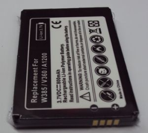 Li-ion Rechargeable Mobile Phone Battery for Motorola W385