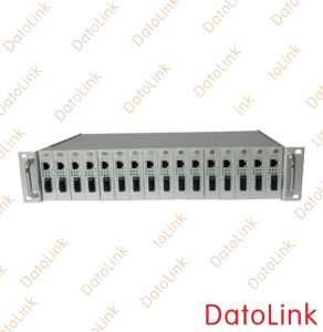 16 Slots Media Converter Rack pictures & photos