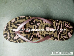 Leopard Print Flip Flop Shoes