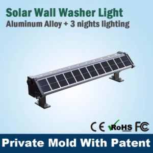 Top Quality Solar Powered Wall Lights RGB Wall Washer Lamp Ce Certificate