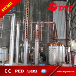 Widely Used 3000L Copper Distillation Column Equipment