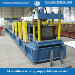 Metal Z Purlin Roll Forming Machine pictures & photos