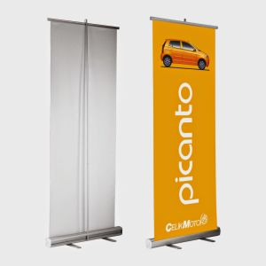 Wholesale and Retail Custom Printed Full Color Panaflex Banner Stands