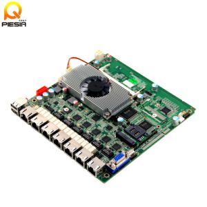 X86 Industrial Mini Itx 6 Ethernet 12V Firewall Embedded Motherboard pictures & photos