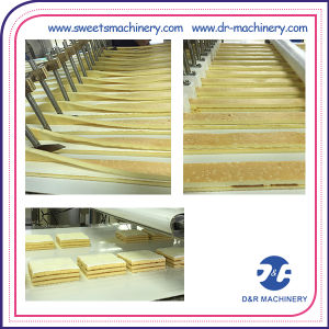 Three Layer Cake Production Line pictures & photos