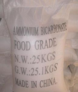 High Quality Ammonium Bicarbonate 1066-33-7 for Nitrogen Fertilizer and Food pictures & photos