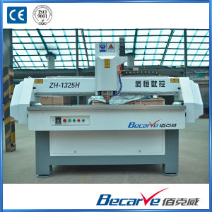 CNC Lathe Milling Machine for Wood and Metals with High Quality pictures & photos