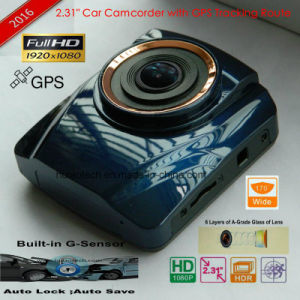 "2.4""HD1080p Car Dash Camera with Ntk 966220 Car Video Recorder Chipset, 5.0mega H42 Car Camera; HDMI Video out; Loop Recording Car DVR-2416 pictures & photos"