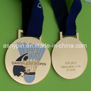 Custom Baminton Race Medals Metal pictures & photos