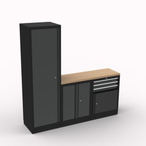 Storage Module System; Tool Workbench; Tool Cabinet