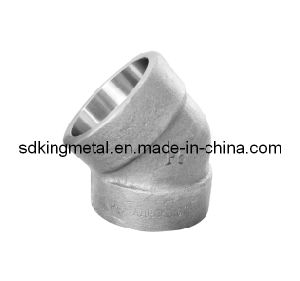 Forged Carbon Steel Socket Welding 45 Elbow pictures & photos