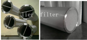 Basket Filter Cartridge by Sintered Netting