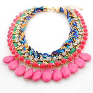 Colorful Fashion Lady Necklace Aw241