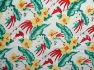 Flower Design Coral Fleece Fabric (XDFF-003) pictures & photos