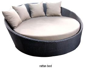 Leisure Furniture, Rattan Bed