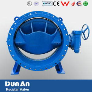 Double Flanged Eccentric Butterfly Valve pictures & photos