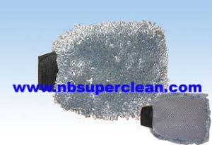 Special Microfiber Car Wash Mitt for Wholesale (CN1302) pictures & photos