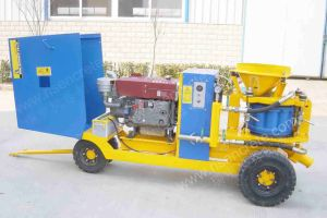 RISEN PZ-9 Concrete Spraying Machine with Diesel Engine pictures & photos