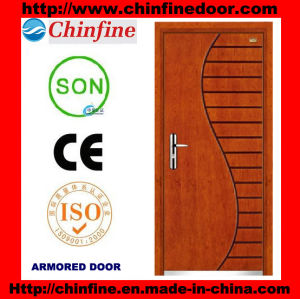 New Design Steel-Wood Armored Door (CF-M025) pictures & photos