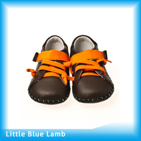 Sport Style Leather Baby Shoes (LBL-BB27113BR)