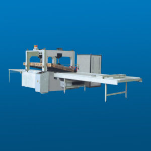 High Frequency Edge Gluer with Feeder