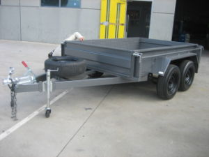 High Quality Steel Box Trailer