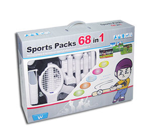 WII 68 in 1 Sports Pack, Compatible with Wii MotionPlus