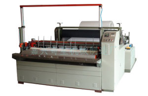 Nonwoven Fabric Perforating & Re-Rolling Machine