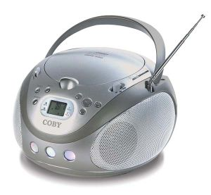 Portable MP3/CD Player with Am/FM Stereo Tuner and USB Port (MP-CD471)