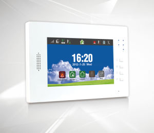 "Internal Antenna GSM Alarm System with 7"" Touch Screen (ES-X6) pictures & photos"